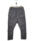 NATAL DESIGN(ネイタルデザイン)の古着「G55 Sarouel Flap Denim Pants A」 グレー
