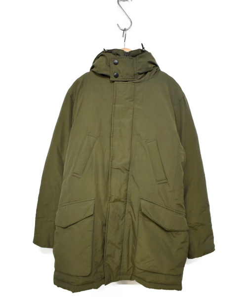 blazers bank.com(ブレイザーズバンク)blazers bank.com (ブレイザーズバンク) ダウンジャケット オリーブ サイズ:L 冬物の古着・服飾アイテム