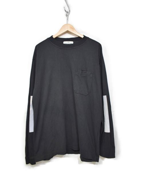 STONE ISLAND(ストーンアイランド)STONE ISLAND (ストーンアイランド) 長袖Tシャツ ブラック サイズ:L 691520244の古着・服飾アイテム