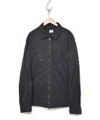 C.P COMPANY(シーピーカンパニー)の古着「ジップシャツブルゾン 07CMOS149A」|ブラック