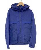 C.P COMPANY(シーピーカンパニ)の古着「ジップアップジャケット」|ネイビー