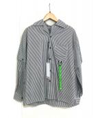 REPRESENT(リプレゼント)の古着「ストライプシャツ」|グレー