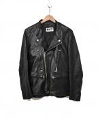BRU NA BOINNE(ブルーナボイン)の古着「レザージャケット」|ブラック