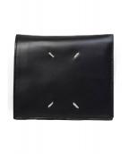Maison Margiela(メゾンマルジェラ)の古着「20S/S 2つ折り財布」|ダークネイビー