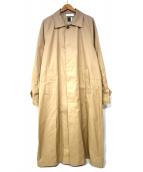 FACETASM(ファセッタズム)の古着「COVER YOUR STYLE COAT」 ベージュ