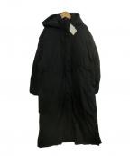 Ungrid(アングリッド)の古着「スリットボリュームロングダウン」 ブラック