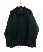 EXAMPLE()の古着「3LAYER COACH JACKET」 ブラック