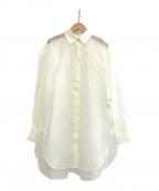 styling/(スタイリング)の古着「20A/W オーガンザシャツ」|ホワイト