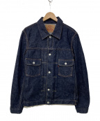 TCB jeans(ティーシービー ジーンズ)の古着「1Stタイプデニムジャケット」|インディゴ