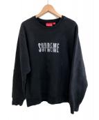 Supreme(シュプリーム)の古着「World Famous Crewneck」|ブラック