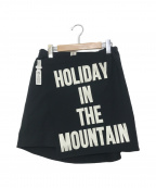 MOUNTAIN RESEARCH(マウンテンリサーチ)の古着「キルトスカート」 ブラック