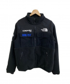 SUPREME×THE NORTH FACE(シュプリーム ×ザノースフェイス)の古着「18AW  Expedition Fleece Jacket」 ブラック