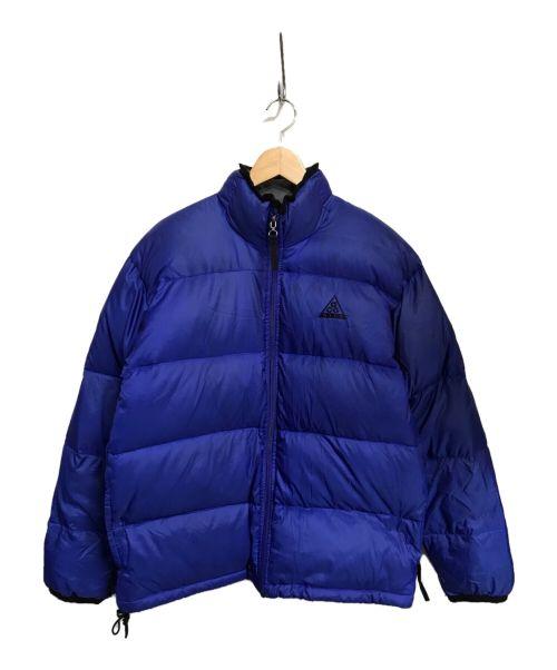 NIKE ACG(ナイキエージーシー)NIKE ACG (ナイキエージーシー) ダウンジャケット ブルー サイズ:Mの古着・服飾アイテム