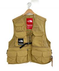 SUPREME×THE NORTH FACE(シュプリーム×ザノースフェイス)の古着「20S/S Cargo Vest」|ブラウン