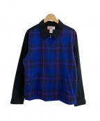 Supreme×COMME des GARCONS SHIRT(シュプリーム × コムデギャルソンシャツ)の古着「ワークジャケット」 ブラック×ブルー