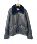 OUR LEGACY(アワーレガシー)の古着「SHEARLING BOMBER JACKET」 ブラック