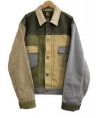 HUMAN MADE(ヒューマンメイド)の古着「クレイジーワークジャケット」 カーキ