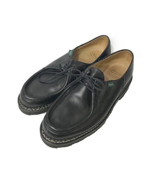 PARABOOT(パラブーツ)PARABOOT (パラブーツ) チロリアンシューズ ブラック サイズ:42 1/2 MICHAELの古着・服飾アイテム