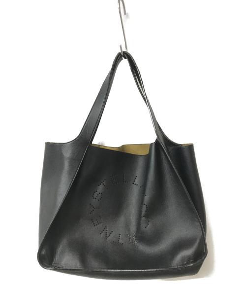 STELLA McCARTNEY(ステラマッカートニー)STELLA McCARTNEY (ステラマッカートニー) STELLA LOGO TOTE BAG ブラックの古着・服飾アイテム