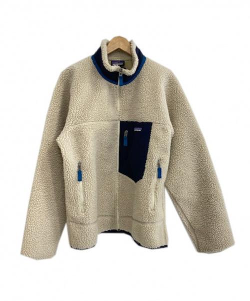 Patagonia(パタゴニア)Patagonia (パタゴニア) クラシックレトロXジャケット アイボリー サイズ:Mの古着・服飾アイテム