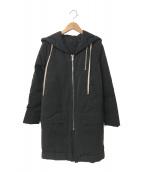 RICK OWENS(リックオウエンス)の古着「コート」|ブラック