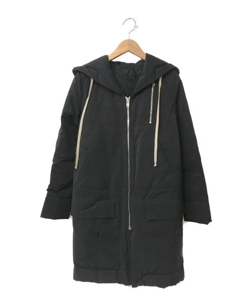 RICK OWENS(リックオウエンス)RICK OWENS (リックオウエンス) コート ブラック サイズ:38 秋冬物 RP15F1936-MUの古着・服飾アイテム