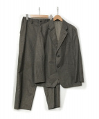 ISSEY MIYAKE(イッセイミヤケ)の古着「ウールセットアップ」|ブラウン