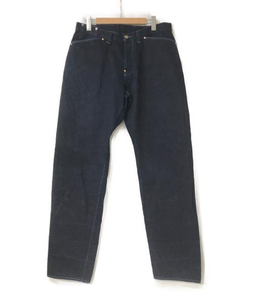 TENDER Co.(テンダー コー)TENDER CO. (テンダー) DENIM PANTS(WIDE)WORD インディゴ サイズ:4  132の古着・服飾アイテム
