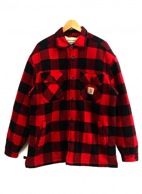 Carhartt WIP(カーハート)CARHARTT WIP (カーハート ダブリューアイピー) ジャケット レッド サイズ:L 秋冬物の古着・服飾アイテム