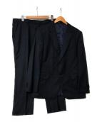 PAUL SMITH(ポールスミス)の古着「DIAMOND-PATTERNセットアップスーツ」|ネイビー