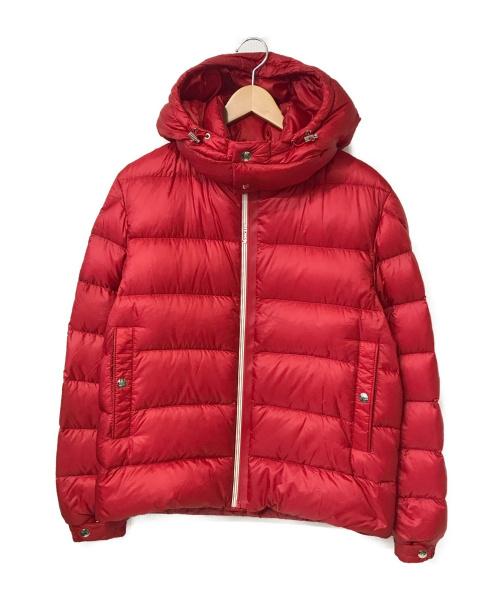 MONCLER(モンクレール)MONCLER (モンクレール) ARVES GIUBBOTTOダウンジャケット レッド サイズ:1 F20911A20100 53334の古着・服飾アイテム