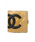 CHANEL(シャネル)の古着「2つ折り財布」|アイボリー