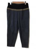 KOLOR(カラー)の古着「カラーブロックパンツ」|グレー