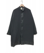 N.HOOLYWOOD(ミスターハリウッド)の古着「19A/W 中綿ナイロンコート」|ブラック