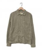 ASPESI(アスペジ)の古着「コーデュロイシャツ」 ブラウン