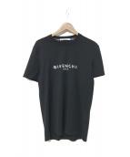 GIVENCHY(ジバンシィ)の古着「ヴィンテージロゴプリントTシャツ」 ブラック