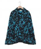 Christian Dior()の古着「ニットジャケット」 ブルー