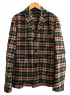 CABAN(キャバン)の古着「タータンチェックジャケット」 マルチカラー