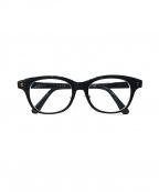 白山眼鏡店(ハクサンガンキョウテン)の古着「伊達眼鏡」 ブラック