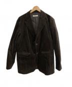 ROTT WEILER(ロットワイラー)の古着「20AW コーデュロイジャケット」|ブラウン