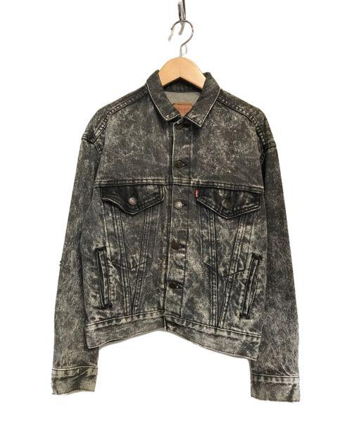 LEVI'S(リーバイス)LEVI'S (リーバイス) ヴィンテージデニムジャケット ブラック サイズ:Lの古着・服飾アイテム