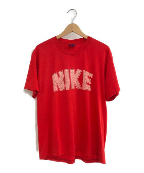 NIKE(ナイキ)NIKE (ナイキ) ヴィンテージTシャツ レッド サイズ:XL USA製 80年代 紺タグ カマボコナイキの古着・服飾アイテム