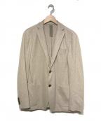 eleventy(イレブンティ)の古着「テーラードジャケット」 ベージュ