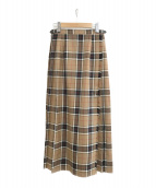 ONEIL OF DUBLIN(オニールオブダブリン)の古着「ロングスカート」|ブラウン
