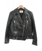 RBS(アールビーエス)の古着「ライダースジャケット」 ブラック