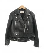RBS(アールビーエス)の古着「ライダースジャケット」|ブラック