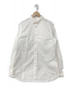 ()の古着「18S/S 安全ピン装飾ドレスシャツ」 ホワイト