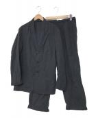 Barbour(バブアー)の古着「リネンセットアップ」 ネイビー