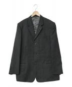 ()の古着「ウール3Bジャケット」|グレー