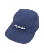 SUPREME(シュプリーム)の古着「キャンバスキャンプキャップ」|ネイビー
